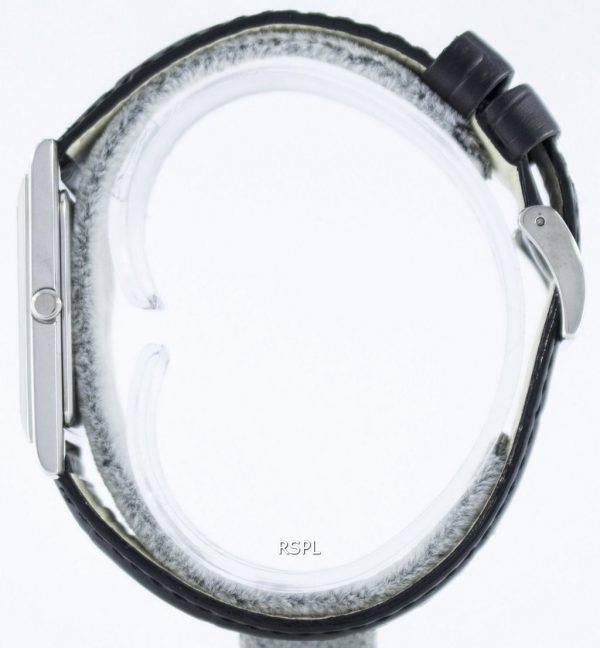 Montre Seiko Quartz rectangulaire élégant SKP361 analogiques SKP361P1 SKP361P hommes