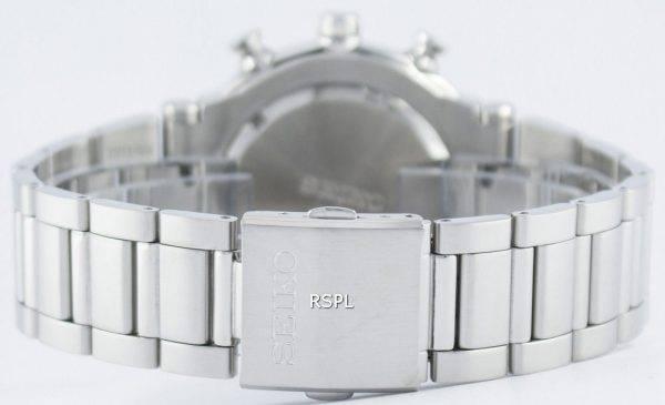 Montre Seiko Quartz chronographe alarme SNAA43 SNAA43P1 SNAA43P hommes