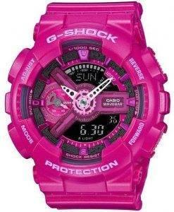 Casio G-Shock S série analogique-numérique mondiale temps GMA-S110MP-4 a 3 Women Watch
