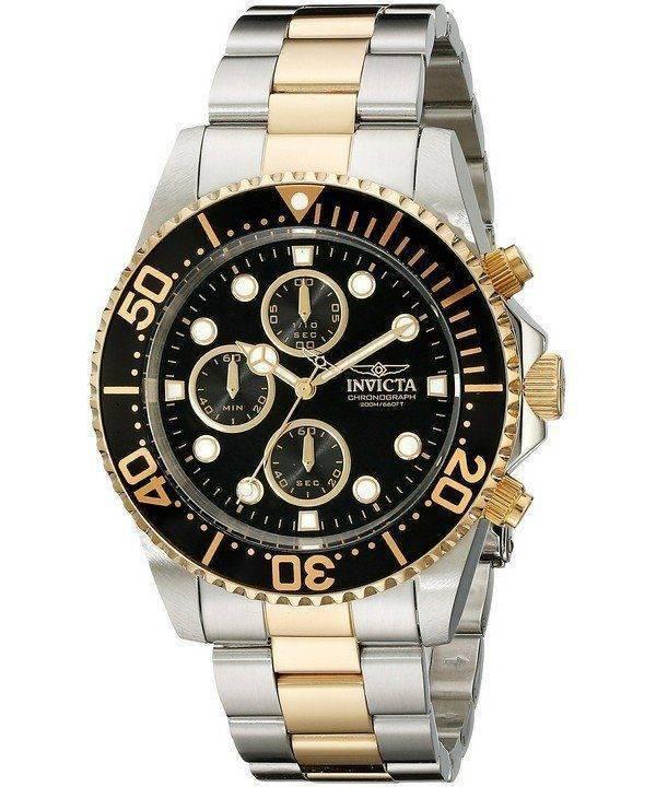 Invicta Pro Diver Chronographe Quartz 200M 1772 montre homme