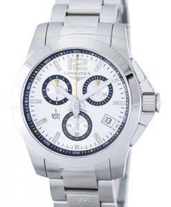Longines Conquest 1 / 100th St. Moritz Quartz chronographe L3.700.4.78.6 montre homme