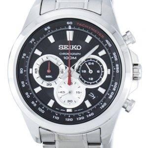 Montre Seiko chronographe Quartz tachymètre SSB241 SSB241P1 SSB241P hommes