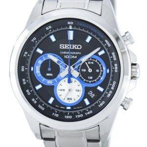 Montre Seiko chronographe Quartz tachymètre SSB243 SSB243P1 SSB243P hommes