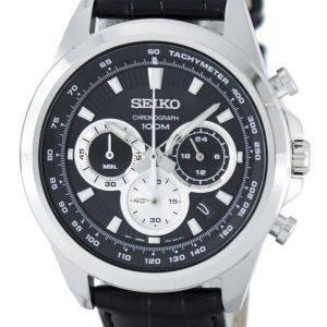 Montre Seiko chronographe Quartz tachymètre SSB249 SSB249P1 SSB249P hommes