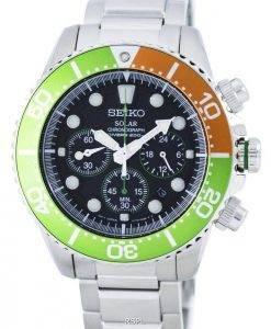 Montre 200M SSC237 SSC237P1 SSC237P masculine Seiko chronographe solaire Diver