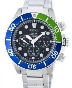 Montre 200M SSC239 SSC239P1 SSC239P masculine Seiko chronographe solaire Diver