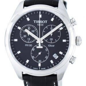 Montre Tissot T-Classic PR100 Quartz chronographe T101.417.16.051.00 T1014171605100 masculin