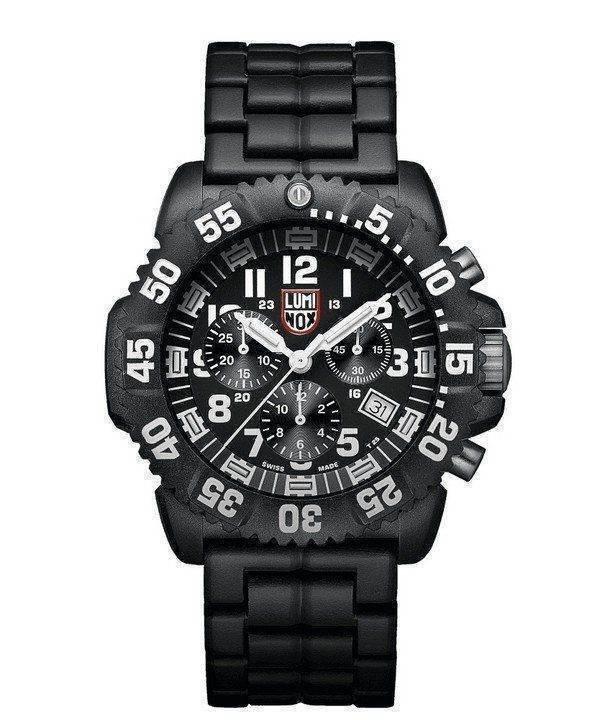 LUMINOX Navy Seal Colormark chronographe 3080 série Suisse fait 200M XS.3082 hommes regarder