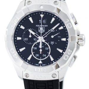 Tag Heuer Aquaracer Chronographe Quartz Swiss fait 300M CAY1110. FT6041 Montre homme