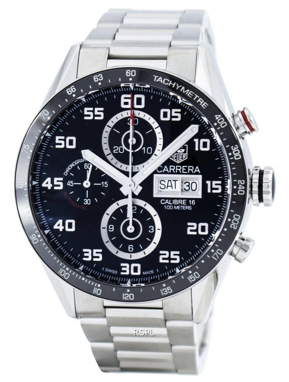 tag heuer carrera chronographe automatique calibre 16