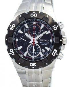 Alarme Seiko Chronograph SNAD35P1 SNAD35 SNAD35P montre homme