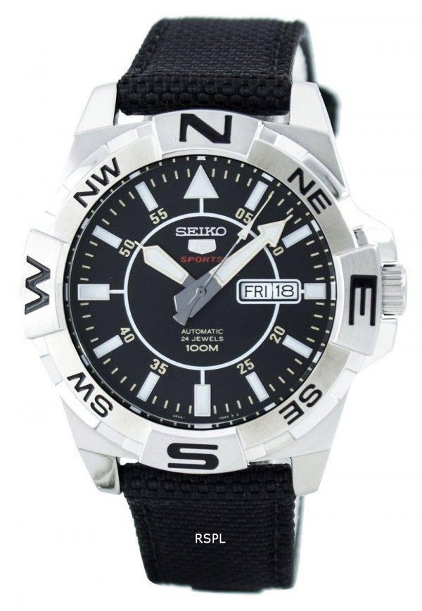 Montre Seiko 5 Sports automatique 24 bijoux SRPA69 SRPA69K1 SRPA69K hommes 5994f8b1e6ea