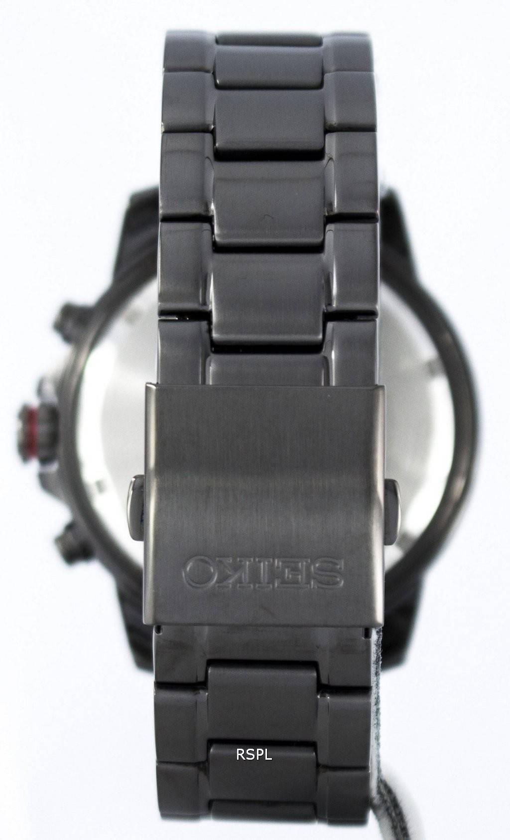 Chronographe Alarme Ssc559p Montre Seiko Ssc559 Ssc559p1 Solaire N8nmv0w