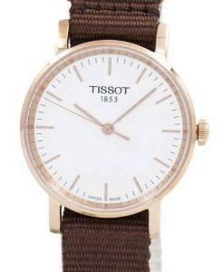 Montre Tissot T-Classic Everytime petit Quartz T109.210.37.031.00 T1092103703100 féminin