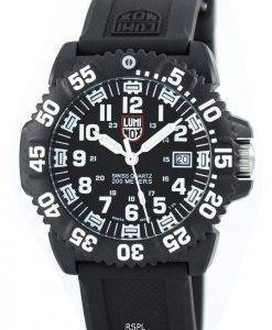 Luminox Sea Navy Seal Colormark Watch 3050 Series suisse Quartz 200M XS.3051 Hommes