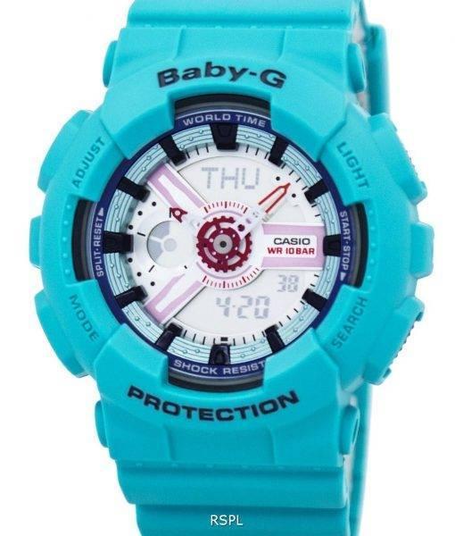 Montre Casio Baby-G analogique numérique BA-110SN-3 a de la femme