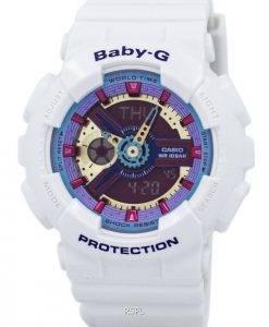 Montre Casio Baby-G analogique numérique multi-couleur Dial BA-112-7A femmes