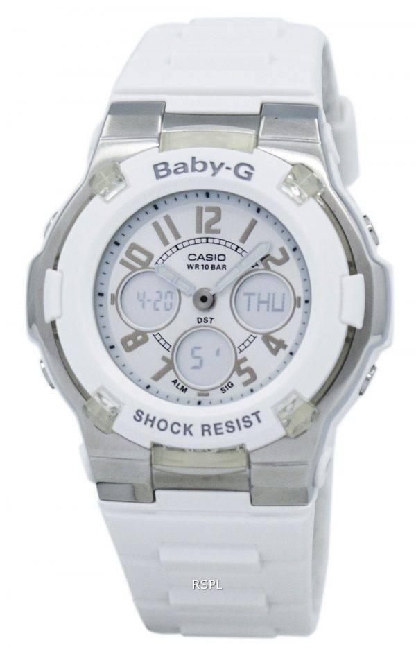 Montre Casio Baby-G analogique numérique mondiale Temps BGA-110-7B femmes
