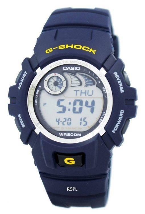 Montre G-2900F-2V G2900F-2VDR Casio G-Shock alarme chronographe hommes