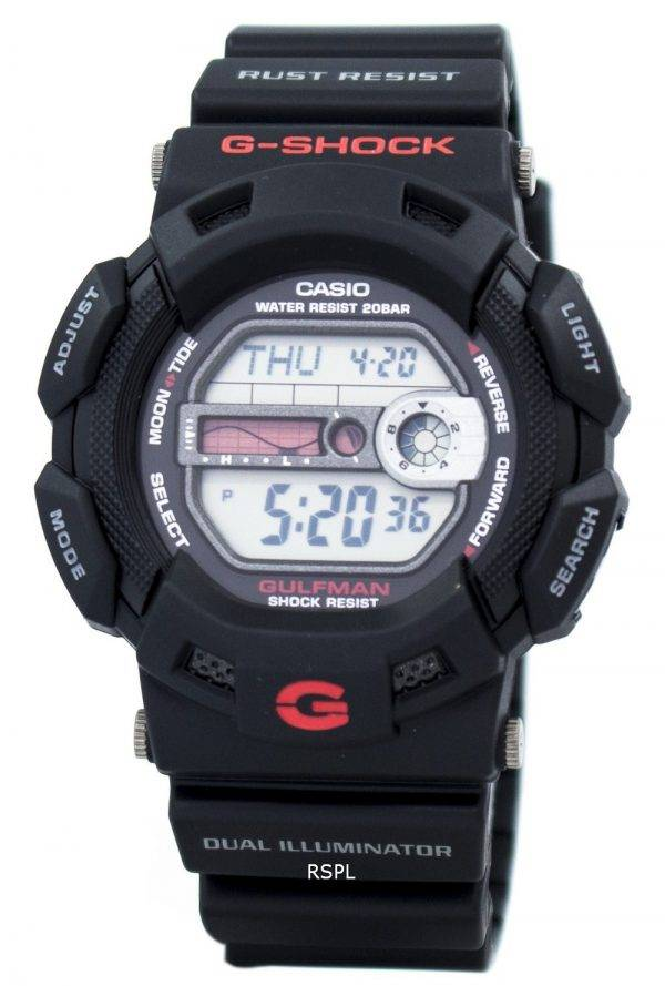 Casio G-Shock Gulfman G-9100-1 DR-G9100-1 DR G-9100 G-9100-1 G9100