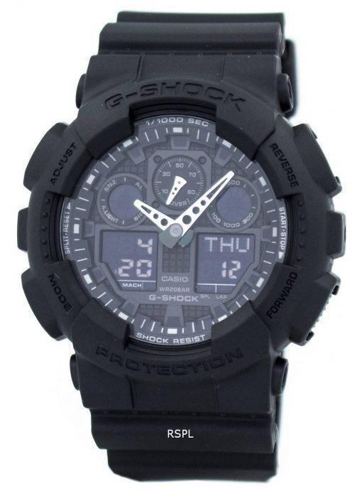Casio G-Shock Matte militaire noir GA-100-1A1 montre hommes