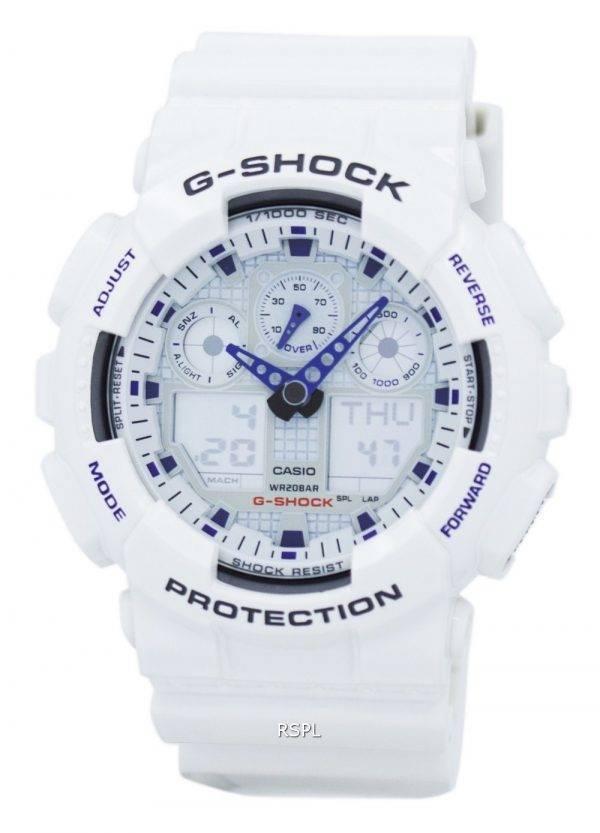 Montre Casio G-Shock analogique-numérique GA-100A-7A hommes