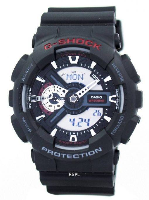 Casio G-Shock monde temps analogique numérique GA110 de GA-110-1 a montre homme
