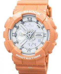 Casio G-Shock Orange analogique numérique GA-110SG-4 a montre homme