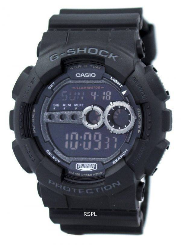 Casio G-Shock GD-100-1BDR GD-100-1BD GD-100-1 b montre homme