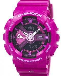 Casio G-Shock S série analogique-numérique mondiale temps GMA-S110MP-4 a 3 montre femme