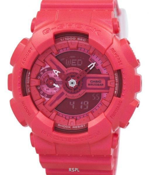 Casio G-Shock S série analogique-numérique 200M GMA-S110VC-4 a Women Watch