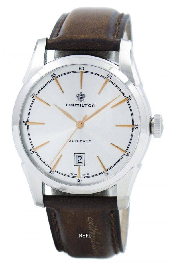 Esprit classique américain de Hamilton de Liberty automatique H42415551 montre homme