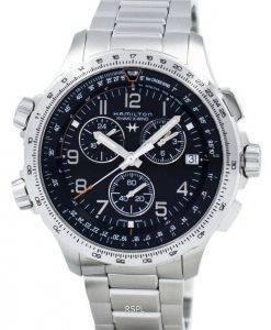 Hamilton Khaki Aviation X-vent Chronographe Quartz GMT H77912135 montre homme