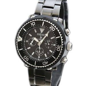 Chronographe Seiko Prospex solaire montre de plongée 200M Limited Edition SBDL035 montre homme
