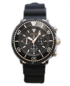 Chronographe Seiko Prospex solaire montre de plongée 200M Limited Edition SBDL038 montre homme
