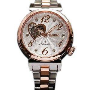 Seiko Lukia automatique Swarovski Crystal Japon fait SSVM022 Women Watch