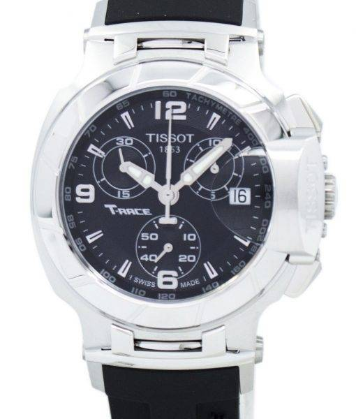 Montre Tissot T-Race Quartz chronographe T048.217.17.057.00 T0482171705700 féminin