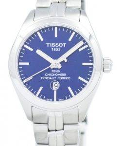 Montre Tissot PR 100 Quartz COSC T101.251.11.041.00 T1012511104100 féminin