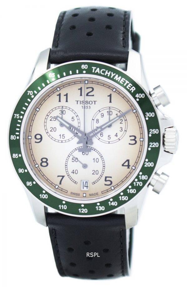 Montre Tissot V8 Quartz chronographe T106.417.16.032.00 T1064171603200 masculin