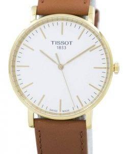 Chaque fois que Tissot Quartz moyen T109.410.36.031.00 T1094103603100 montre unisexe