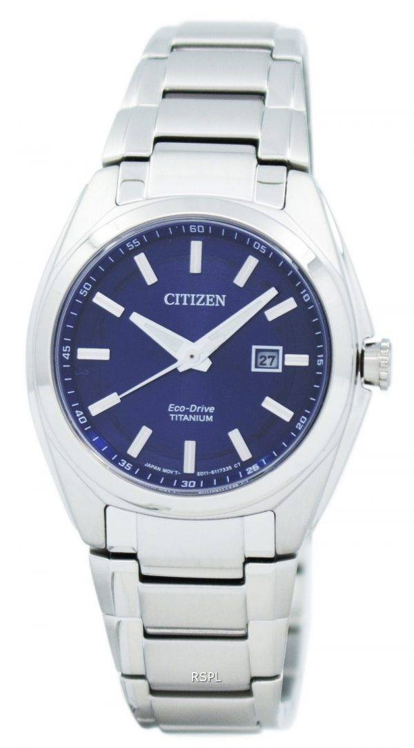 Montre Citizen Eco-Drive titane EW2210 - 53L féminin
