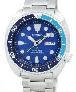 200M Japon Seiko Prospex «BLUE LAGOON» automatique Diver a SRPB11 SRPB11J1 SRPB11J montre homme