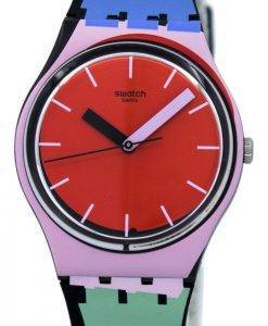 Montre unisexe Swatch Originals A Cote Quartz GB286 Multicolor