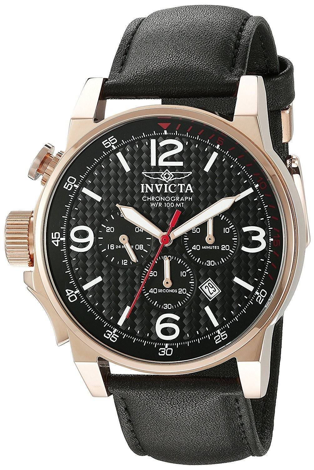 montre invicta force quartz chronographe 20138 homme france. Black Bedroom Furniture Sets. Home Design Ideas
