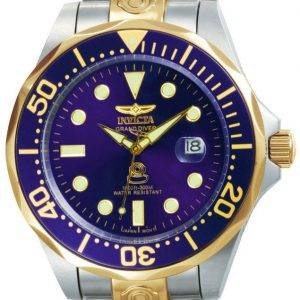 Invicta Pro Diver Plongeur Grand automatique 300M 3049 montre homme