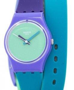 Swatch Originals Fun en Quartz bleu LV117 Women Watch
