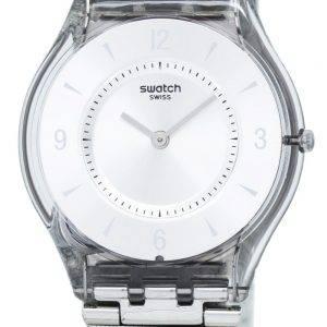 Swatch Skin métal tricot Quartz SFM118M Women Watch