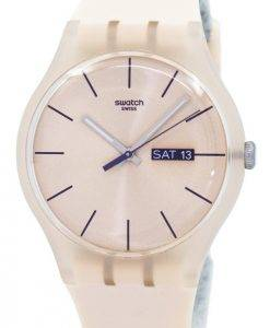 Montre unisexe Swatch Originals Rose rebelle Quartz SUOT700