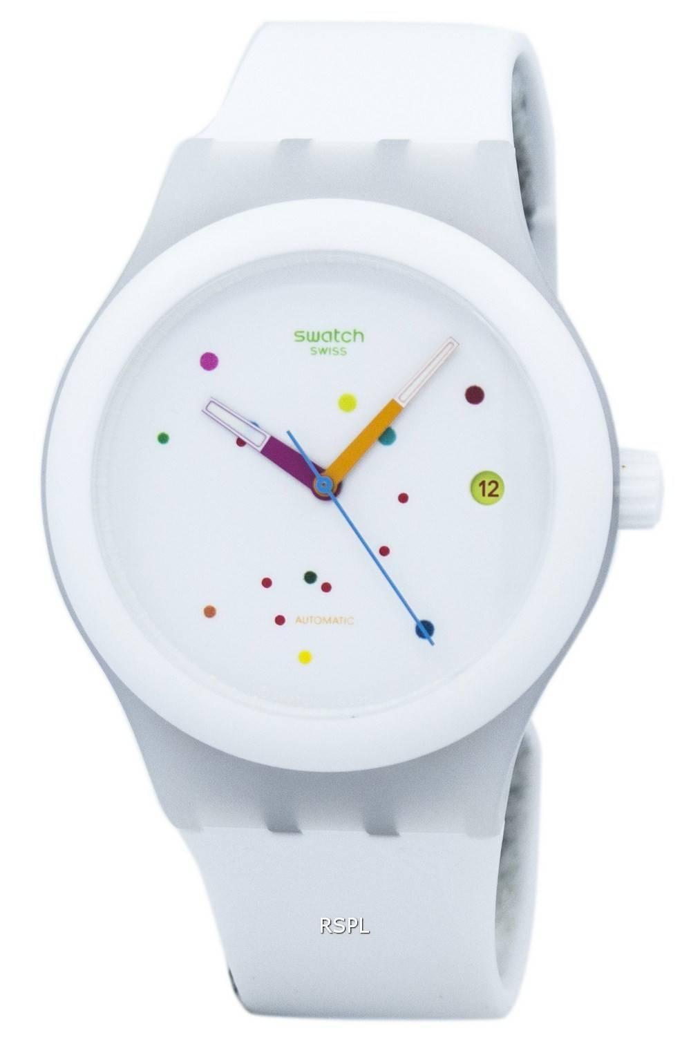 Swatch Originals Sistem White Automatic SUTW400 Unisex Watch