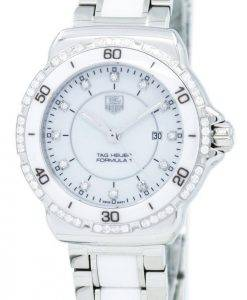 Tag Heuer « Formule un » diamant Accent Quartz WAH1313. BA0868 Women Watch